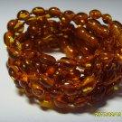 Lot of 10 Baby Cognac  Genuine Baltic Amber Bracelets 18.74gr. C-31