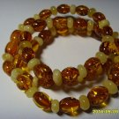 Authentic Mixed Beads Genuine Baltic Amber Necklace 11.80 gr. A-56