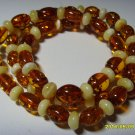 Authentic Mixed Beads Genuine Baltic Amber Necklace 10.83 gr. A-301