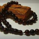 Islamic 33 prayer beads Genuine baltic Pressed Amber Tasbih  29.18grB-200