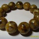 Amber bracelet Natural baltic Amber pressed big size beads  35.76gr B-6