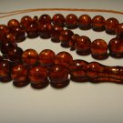 Real Natural Baltic  AMBER pressed Islamic 33 Prayer Beads Tasbih 27,20gr B-592