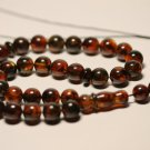 Genuine Baltic AMBER pressed Islamic 33 Prayer beads Tasbih Misbaha 29.20grB-838