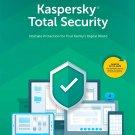 Kaspersky Total Security 2020 Antivirus Global 1+ Year 1 User. Genuine keys