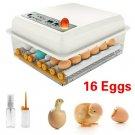 Eggs Incubator 16 Eggs Digita Mini Automatie Incubatores with Turner for Hatching Turkey