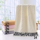 Cotton embroidered facial towel Quick-dry embroidered bath towels for the Home Hotel