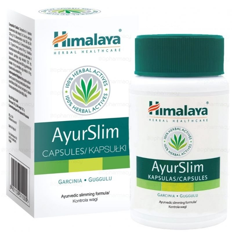 Ayurslim helps to maintain a normal healthy appetite level 60 caps