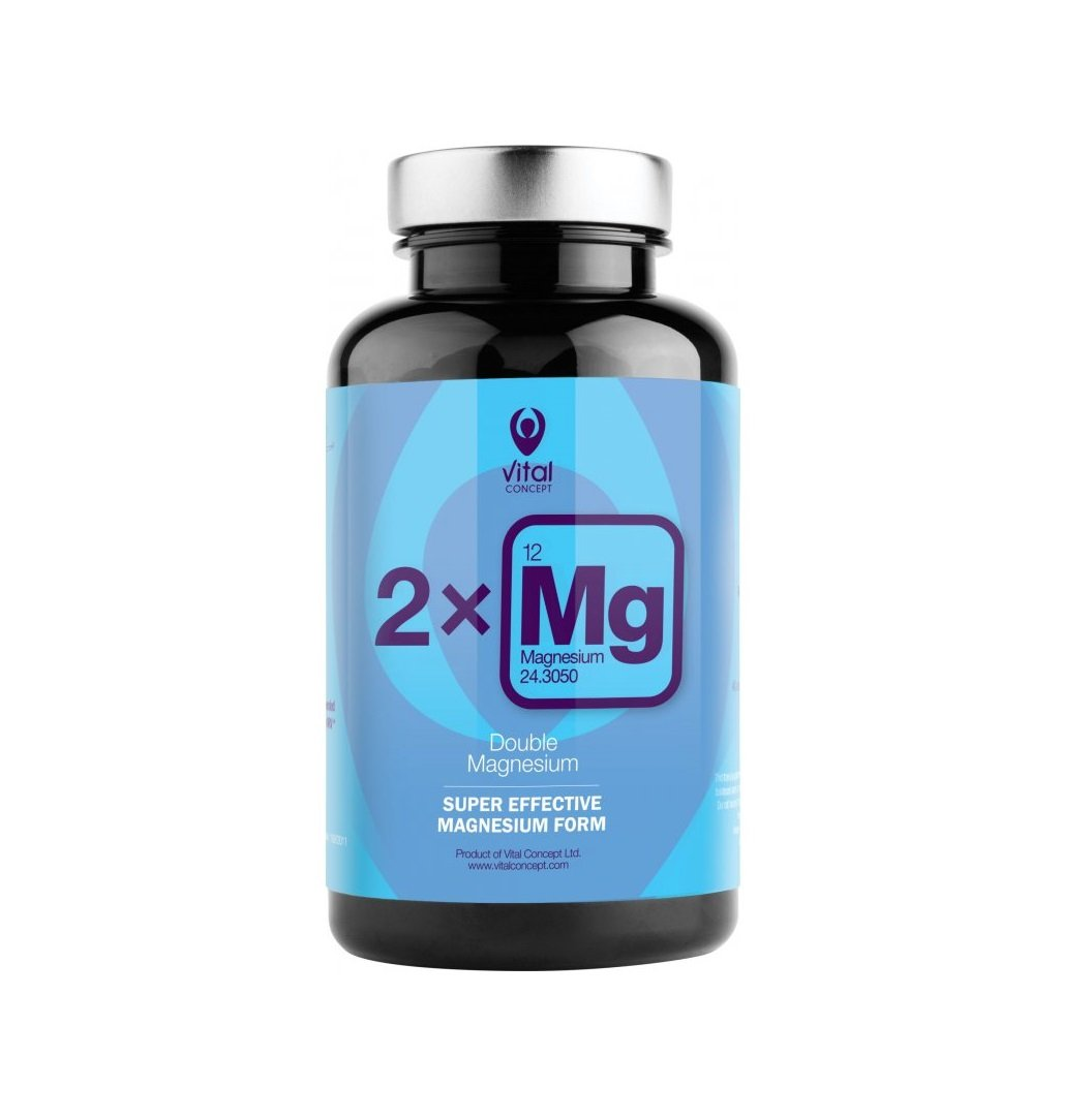 DOUBLE MAGNESIUM � Citrate + Carbonate � 90 caps