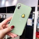 Lovebay Cute 3D Pattern Phone Case For iPhone Lovely Fruit Avocado Soft TPU Candy Back Cover