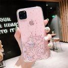 Lovebay Bling Glitter Star Silicone Case For iPhone Shining Sequins Clear Phone Case Back Cover