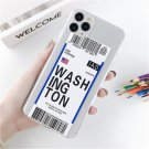 Lovebay Hot INS Label Bar Code City iPhone Case For Soft TPU Back Cover