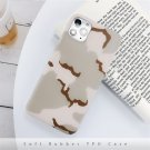 Lovebay Cool Camouflage Army Green Phone Case For iPhone Camo Soft IMD Silicone Back Cover