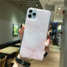 Moskado Luxury Bling Glitter Phone Case For iphone Colorful Marble Texture Soft TPU Back Cover