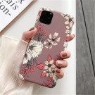 Moskado Retro Colorful Flower Phone Case For iphone Leaves floral Matte Soft IMD Back Cover