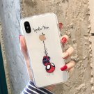 Cute Spiderman Marvel Phone For iphone Case For iphone Case Cover Transparent