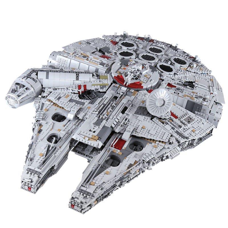 Star Plan 05132 8445pcs Compatible 75192 Ultimate Collectors Model Building Block