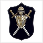 38195 Knight Wall Plaque
