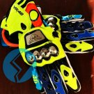 Valentino Rossi Gloves Motorbike Leather Racing Gloves