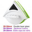 Magnetic Window Wiper Glass Cleaner Brushing Tool Washing Household Cleaning (20-30mm double-layer)