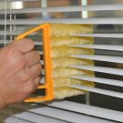 Microfiber Window cleaning brush air Conditioner Duster washable venetian blind blade cleaning cloth