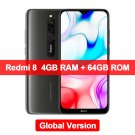 "Xiaomi Redmi 8 4GB+64GB Smartphone Snapdragon 439 Octa Core 12MP Dual Camera 6.22"" Screen 5000mAh"