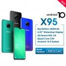"Original DOOGEE X95 2GB 16GB Quad Core MTK6737 Android 10 4G Mobile 6.52"" 13MP Triple Camera 4350mAh"