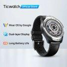 TicWatch Pro 2020 1GB RAM Smartwatch Dual Display IP68 WP NFC Sleep Tracking 24h Heart Rate Monitor