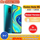 Global Version Xiaomi Redmi Note 9S 6GB/128GB Snapdragon 720G Octa core 5020 mAh 48MP Quad Camera