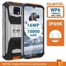 "OUKITEL WP6 4GB 128GB 10000mAh 6.3"" FHD IP68 Phone Octa Core 16MP Triple Cameras Rugged Smartphone"