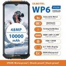 "OUKITEL WP6 6GB 128GB 6.3"" FHD+ IP68 Waterproof 10000mAh Smartphone Octa Core Rugged Mobile Phone"