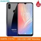 OUKITEL C15 Pro+ 4G LTE 3GB 32GB ROM Smartphone MT6761 Quad-Core Waterdrop Fingerprint Face ID 2G/5G