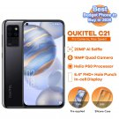 OUKITEL C21 4GB + 64GB Smartphone Octa Core Helio P60 Quad Camera 20MP Hole Punch Screen 4G Cellular