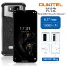 """OUKITEL K12 6GB 64GB Smartphone 6.3"""" Waterdrop 1080*2340 Face ID 10000mAh 5V/6A OTG NFC Android 9"""