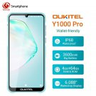 OUKITEL Y1000 Pro 4GB 64GB MTK6763 Octa Core Smartphone 3600mAh Dual SIM Fingerprint Mobile Phone