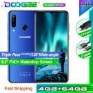 "Doogee N20 4G Smartphone 4GB + 64GB 6.3"" Waterdrop 16MP Triple Rear Cameras 4350mAh Octa-Core 10W"
