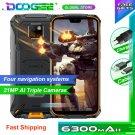 "Doogee S68 Pro Rugged Phone Helio P70 Octa-core 6GB 128GB 21MP+8MP+8MP 5.84"" IP68 6300mAh Smartphone"