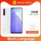 realme X50m 6GB 128GB Moblie Phone Snapdragon 765G Octa Core 48MP Quad Camera 30W Dart Charge NFC