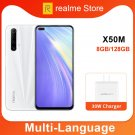 realme X50m 8GB 128GB Moblie Phone Snapdragon 765G Octa Core 48MP Quad Camera 30W Dart Charge NFC