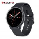 LEMFO SG2 Full Touch Amoled 390*390 HD Screen ECG Smartwatch Wireless Charging IP68 Heart Rate BT5.1