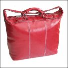 Floto Piana tote Tuscan Red leather duffle bag SKU 3RED