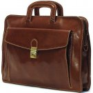 Floto Milano Laptop Sleeve in Vecchio Brown Leather *SKU 1005