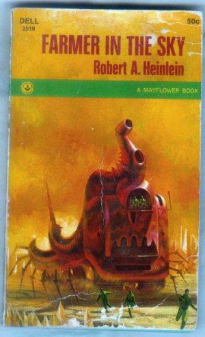 Farmer in the Sky, Robert A. Heinlein - Science Fiction, Dell Mayflower Book #2518, 1968 Paperback