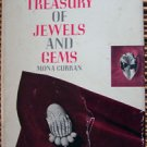 A Treasury of Jewels and Gems 1982 Curran illustrated Fine Jewelry Hardcover