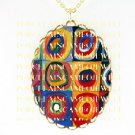 HANDCRAFTED* Wassily Kandinsky  *CAMEO PORCELAIN NECKLACE