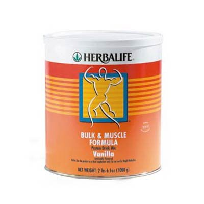Herbalife Bulk & Muscle Formula Protein Drink Mix