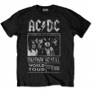 AC/DC Highway to Hell 1979/1980 Concert Tour Mens Womens T-Shirt