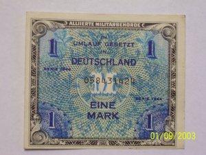 1 Military issued Eine Mark