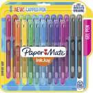 Paper Mate InkJoy Gel Pens, Medium Point (0.7mm) Capped, 20 Count, Assorted