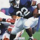 Ki-Jana Carter Classic Rookie Card 1995