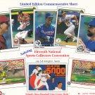 Limited Edition Commemorative Sheet 1990 Arlington